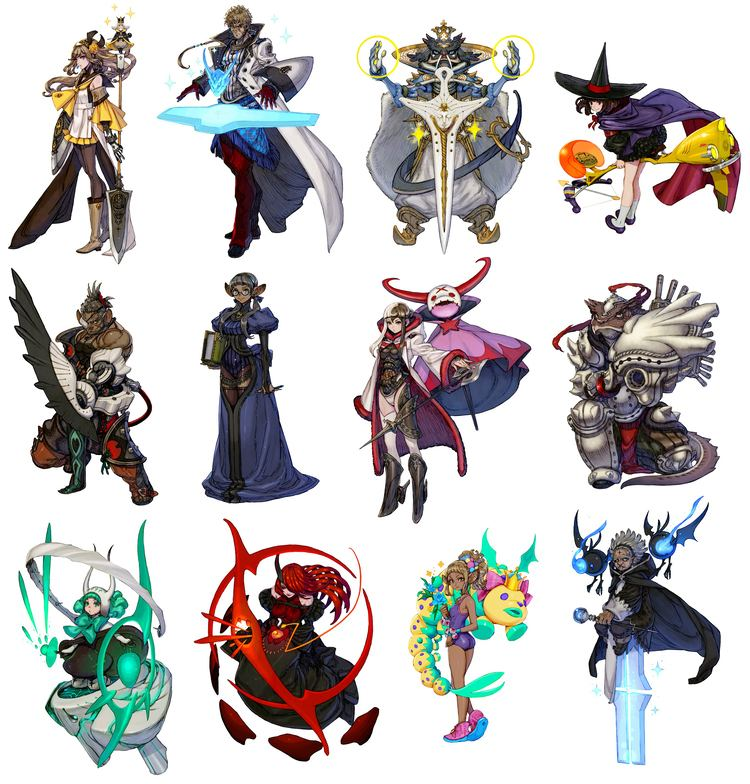 Terra Battle 1000 images about terra battle on Pinterest Character art Low