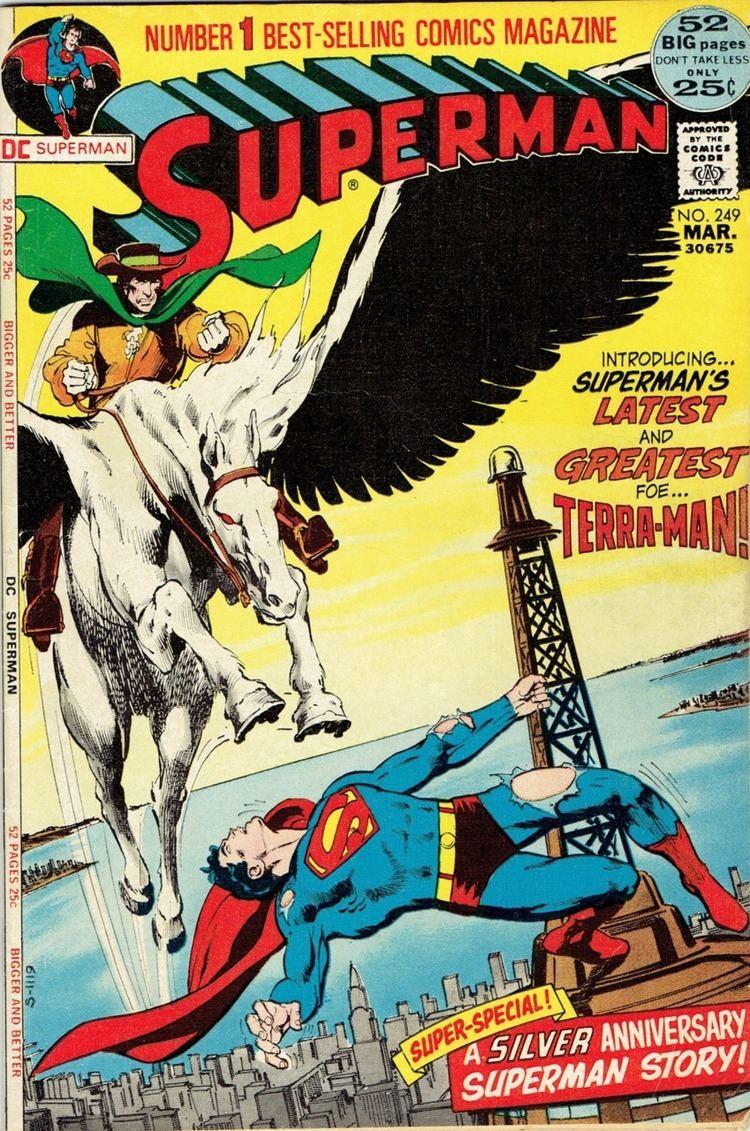 Terra-Man Superman 249 The Challenge of TerraMan The Origin of Terra