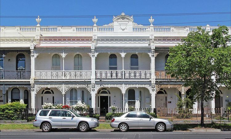 Terraced houses in Australia