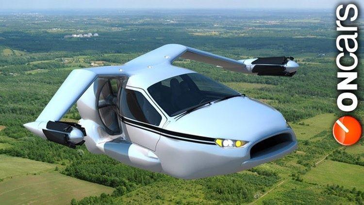 Terrafugia TF-X Terrafugia TFX Flying Car car announced YouTube