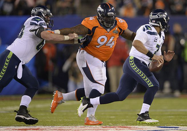 Terrance Knighton Denver Broncos defensive tackle Terrance Knighton will