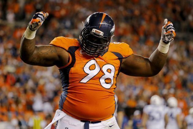 Terrance Knighton Why Terrance Knighton Is the Denver Broncos39 XFactor in