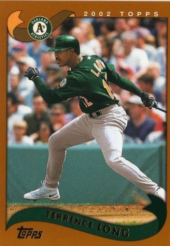 Terrence Long Terrence Long 2002 Oakland As