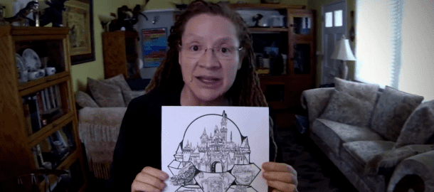 Terri Hardin MiceChat Features Terri Hardin 60 YEARS OF MAGIC Castle Plaque