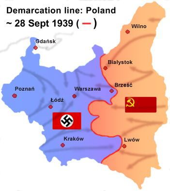 Territories of Poland annexed by the Soviet Union