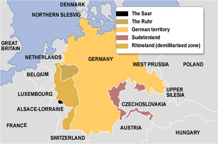Territory of the Saar Basin The Saar plebiscite and reunion with Germany 1935 History