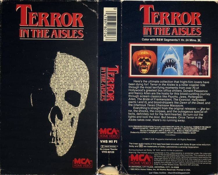 Happyotter TERROR IN THE AISLES 1984