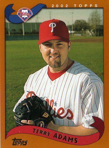 Terry Adams (baseball) PHILADELPHIA PHILLIES Terry Adams 524 TOPPS 2002 Baseball MLB