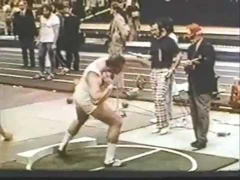 Terry Albritton Terry Albritton World Record Shot Put 2211976 2185 Metersmp4