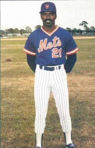 Terry Blocker 1986 TCMA New York Mets Postcards Baseball Gallery The Trading
