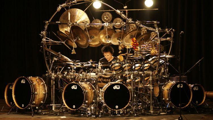 Terry Bozzio Terry Bozzio on Touring the World39s Largest Tuned Drum Kit