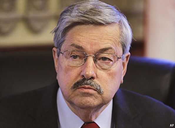 Terry Branstad Purple heart The Economist