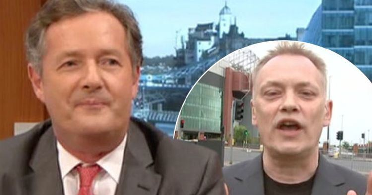 Terry Christian Terry Christian leaves Piers Morgan speechless for a change with