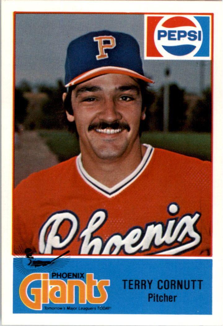 Terry Cornutt 1978 Phoenix Giants Cramer 6 Terry Cornutt NM eBay