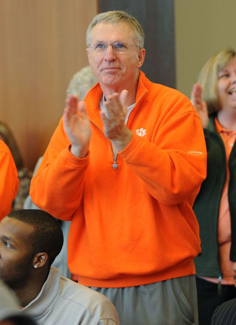 Terry Don Phillips Clemson AD Terry Don Phillips announces retirement search for new