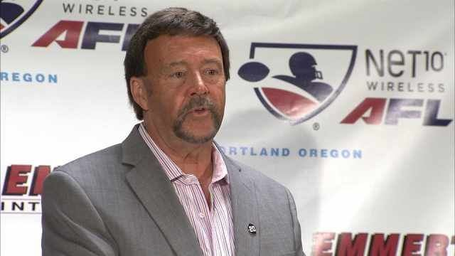 Terry Emmert Arena Football League returning to Portland KPTV FOX 12