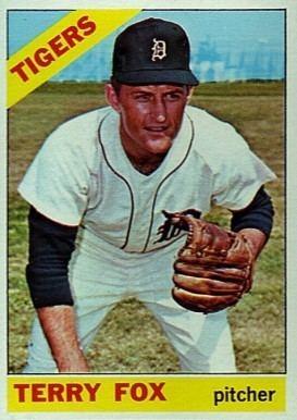 Terry Fox (baseball) 1966 Topps Terry Fox 472 Baseball Card Value Price Guide