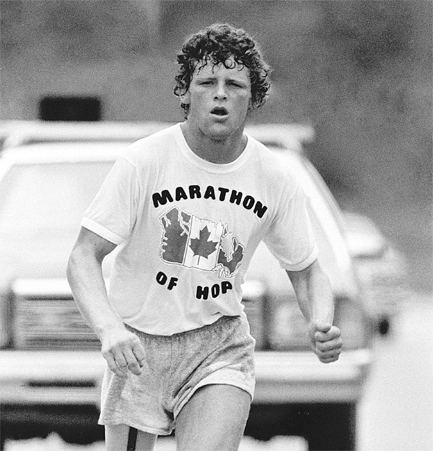 Terry Fox Marathon of Hope Celebration