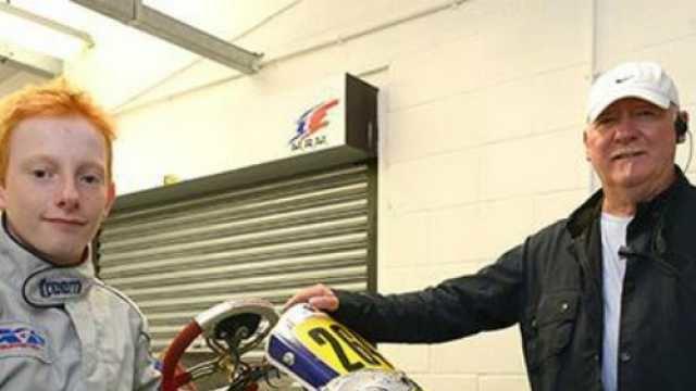 Terry Fullerton Ayrton Sennas old rival Terry Fullerton is still a karting king