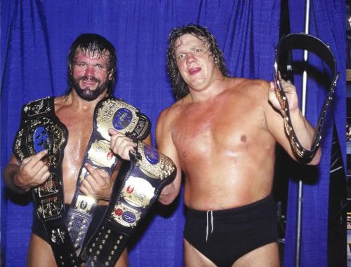 Terry Gordy Daily pro wrestling history 1207 Williams Gordy win All Japan