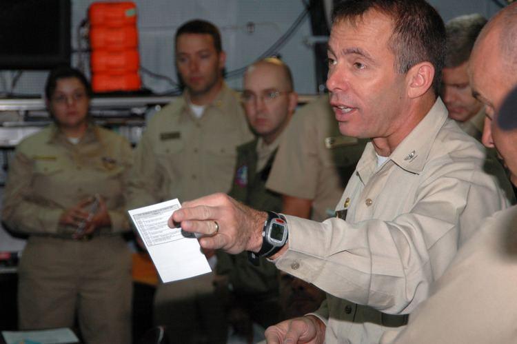 Terry Kraft FileUS Navy 071024N4005H124 Capt Terry B Kraft commanding