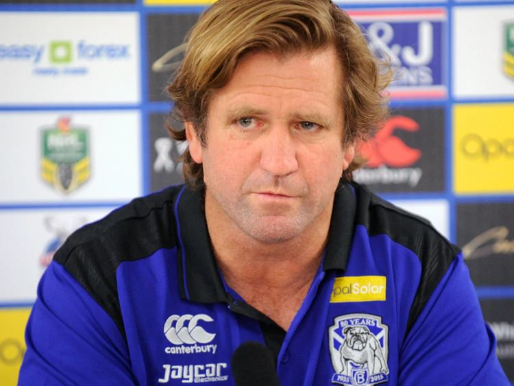 Terry Lamb NRL premiership or bust for Dogs Lamb SBS News