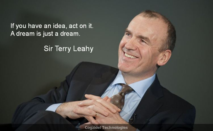 Terry Leahy (footballer) Quote Of The Day Sir Terry Leahy If you have an idea act on it