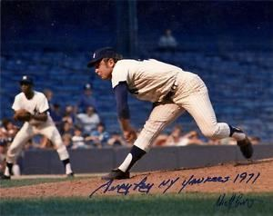Terry Ley NEW YORK YANKEES signed TERRY LEY 1971 rare game action eBay
