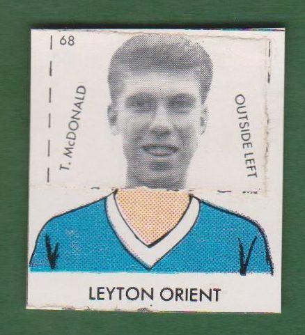 Terry McDonald (footballer) Leyton Orient Terry McDonald