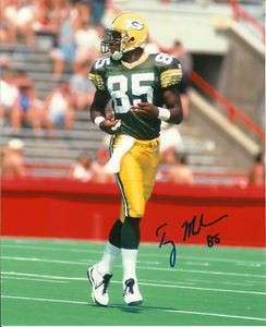 Terry Mickens PACKERS Terry Mickens signed photo 8x10 AUTOGRAPH SB XXXI AUTO Super