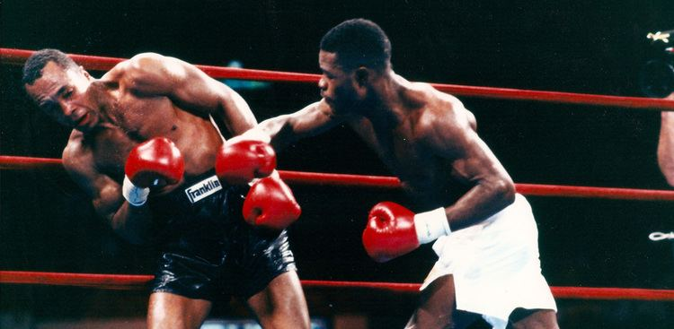 Terry Norris On This Day Terry Norris hammers to remnants of Sugar Ray