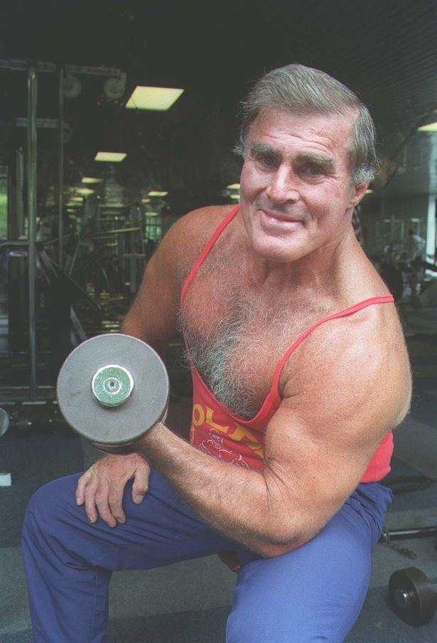 Terry Phillips Family of Merseyside bodybuilder Terry Phillips pay tribute to hero