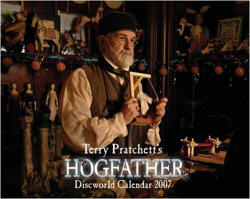 Terry Pratchett's Hogfather Terry Pratchett39s Hogfather Discworld Calendar 2007 na Gollancz