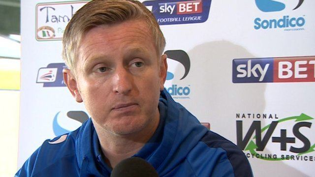 Terry Skiverton BBC Sport Terry Skiverton Yeovil acting manager ready