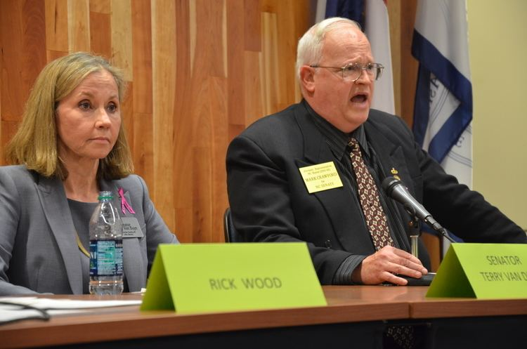 Terry Van Duyn Local North Carolina Senate candidates wrangle over issues