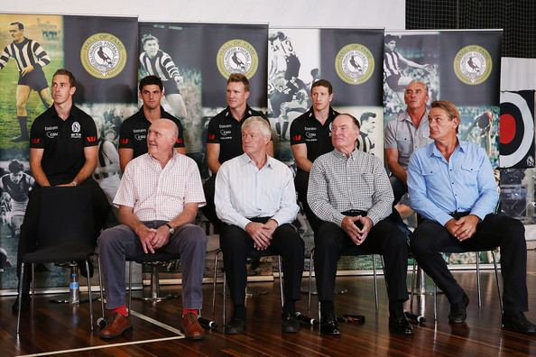 Terry Waters Terry Waters Photos Photos Collingwood Magpies Season Launch Zimbio