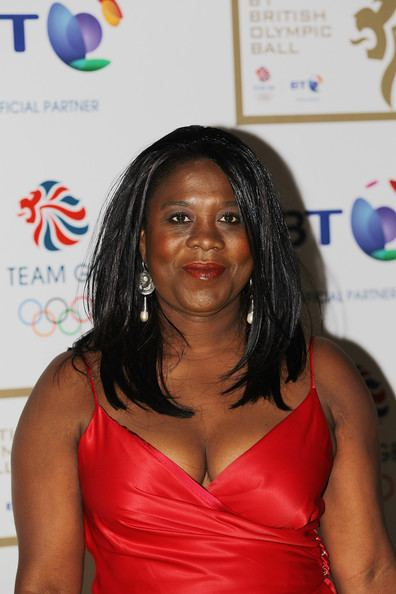 Tessa Sanderson Tessa SandersonWhite Photos British Olympic Ball 2011