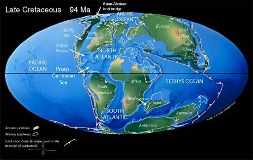 Tethys Ocean Tectonics shown to drive changes in biodiversity Highly Allochthonous