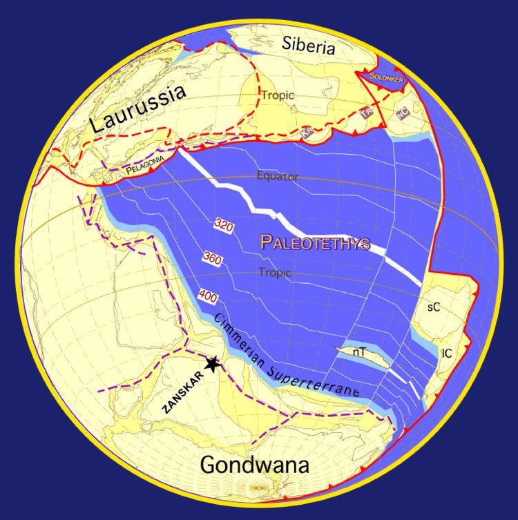 Tethys Ocean PaleoTethys Ocean Wikipedia