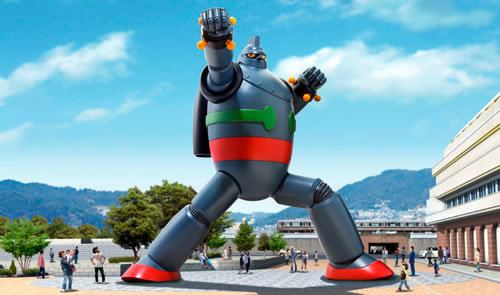Tetsujin 28-go Giant Robot Statue to be displayed in Kobe Jamaipanese