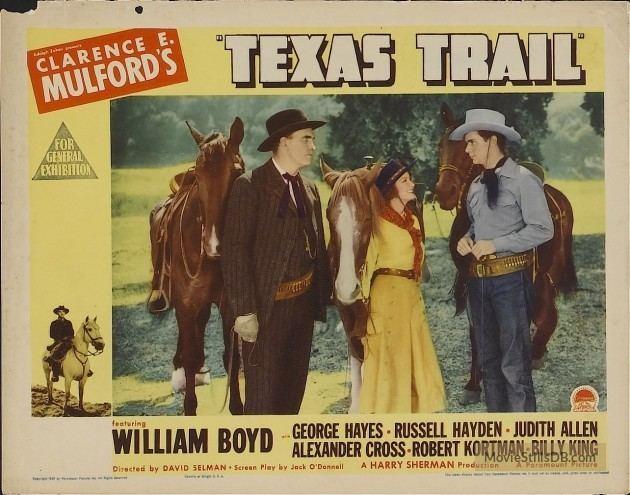 Western Mood Texas Trail Le cavalier de lOuest David Selman 1937