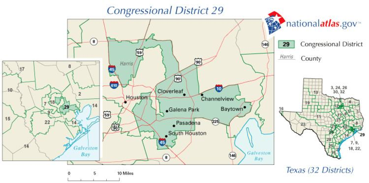 Texas's 29th congressional district