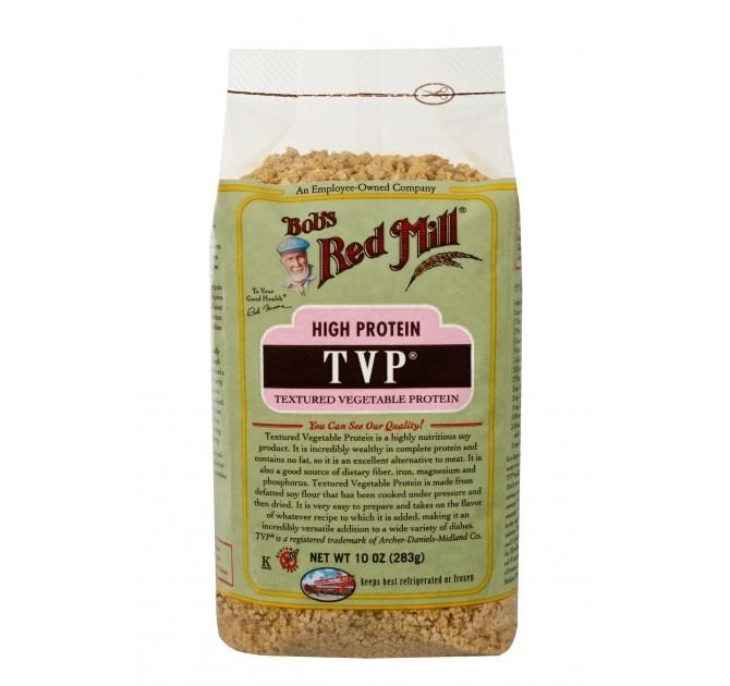 Textured vegetable protein TVP Textured Vegetable Protein Bob39s Red Mill