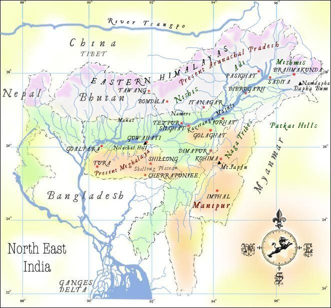Tezpur in the past, History of Tezpur