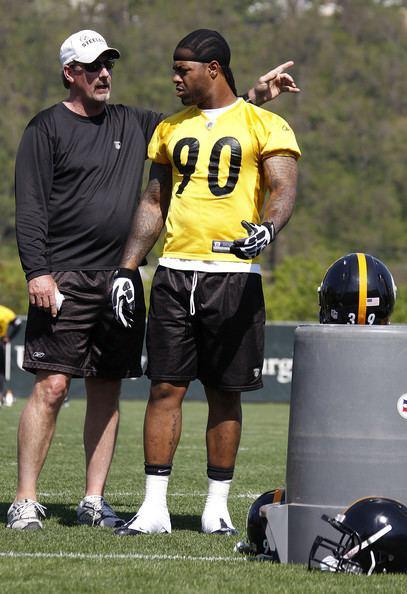 Thaddeus Gibson Thaddeus Gibson Pictures Pittsburgh Steelers Mini Camp