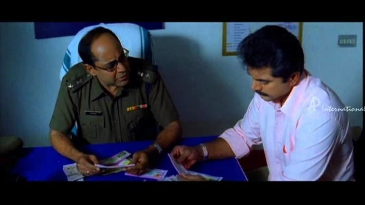 Thalaivasal (film) movie scenes Narasimmhan IPS Tamil Movie Scenes Comedy Thalaivasal Vijay informs Sarath Kumar