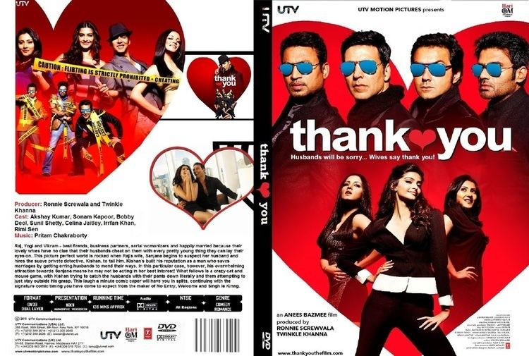 Thank you 2011 720p Upscaled DvdRip x264 Untouched All Music