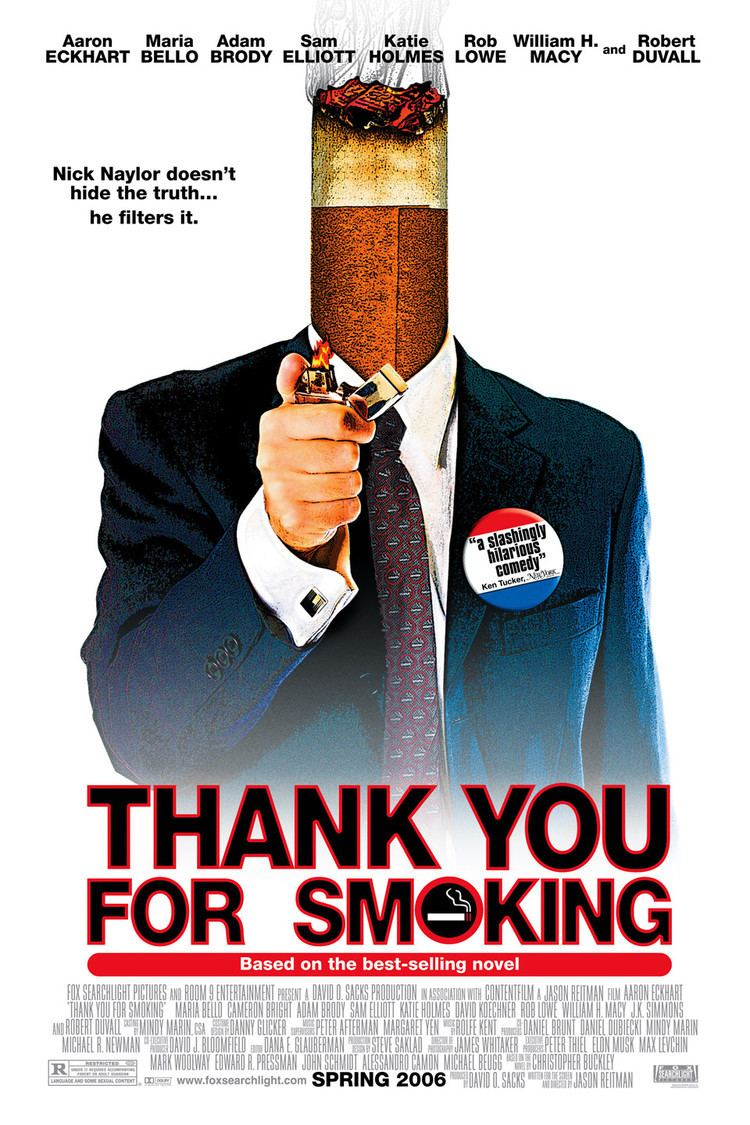 Thank You for Smoking wwwgstaticcomtvthumbmovieposters159832p1598