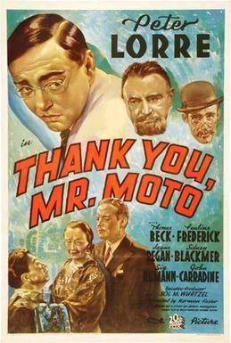 Thank You Mr Moto film Wikipedia
