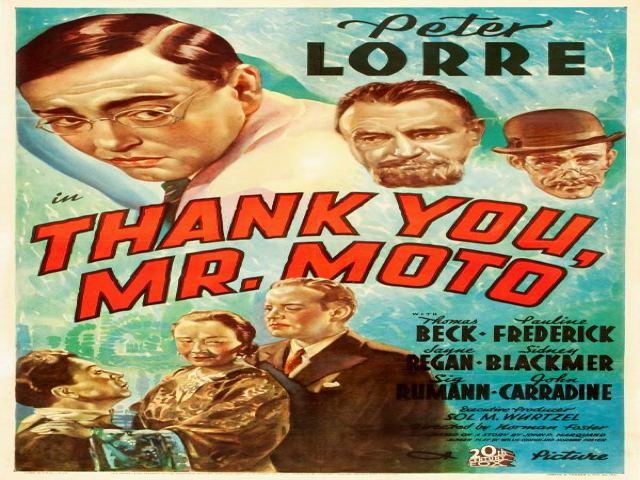 Thank You Mr Moto 1937 RetroVision Media